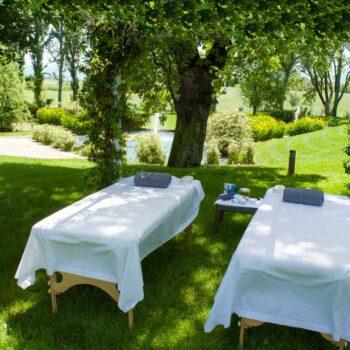 Massaggio in Giardino